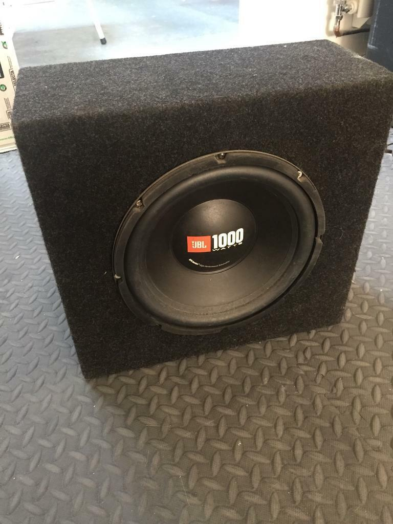 In car Subwoofer 10""
