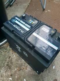 Platinum Prestige Car Battery