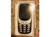 Brand New 3310 Unlocked Charcoal Mobile Phone