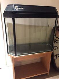 Fish tank/ vivarium and stand