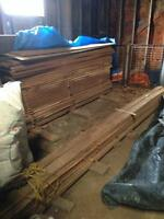 Cherry, Ash and Oak Rough Cut Planks