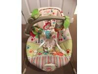 Baby Bouncer - Fisher Price Woodsy Friends