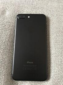 iPhone 7 Plus 256gb unlocked, mint condition, matt black