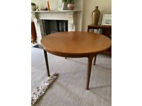 Mid century (Nathan) extendable dining table