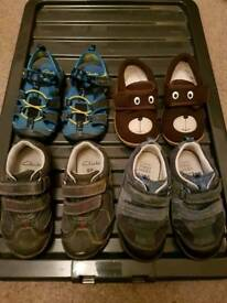 Variety of Boys Shoes Inc Clarks