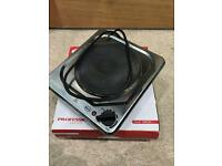 2x Swan single hot plate stoves
