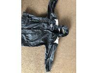 Boys age 11-12 black Sondico waterproof jacket