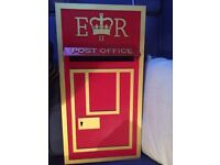 XL Large Premium Royal Mail Style MDF Post Box, Great For Weddings