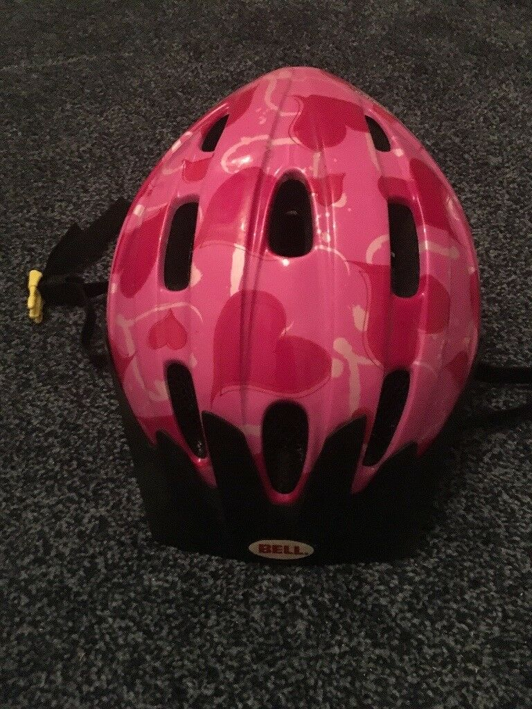 Pink cycle/scooter helmet