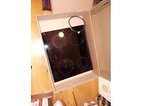 Bosch 4 zone ceramic induction hob PIE651T14E black glass