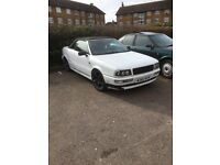 Great Audi 80 Cabriolet 2.0 manual With valid Mot and Tax cheap £98-£250/year classic insurance