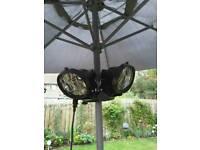 Heat master outdoor patio/parasol heater