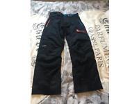 Men's ski trousers size medium