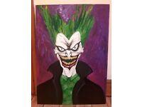 Original joker painting