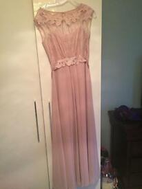 Coast Lori May maxi dress Blush Size 8