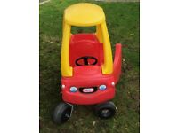 Little Tikes Car - Yellow and Red