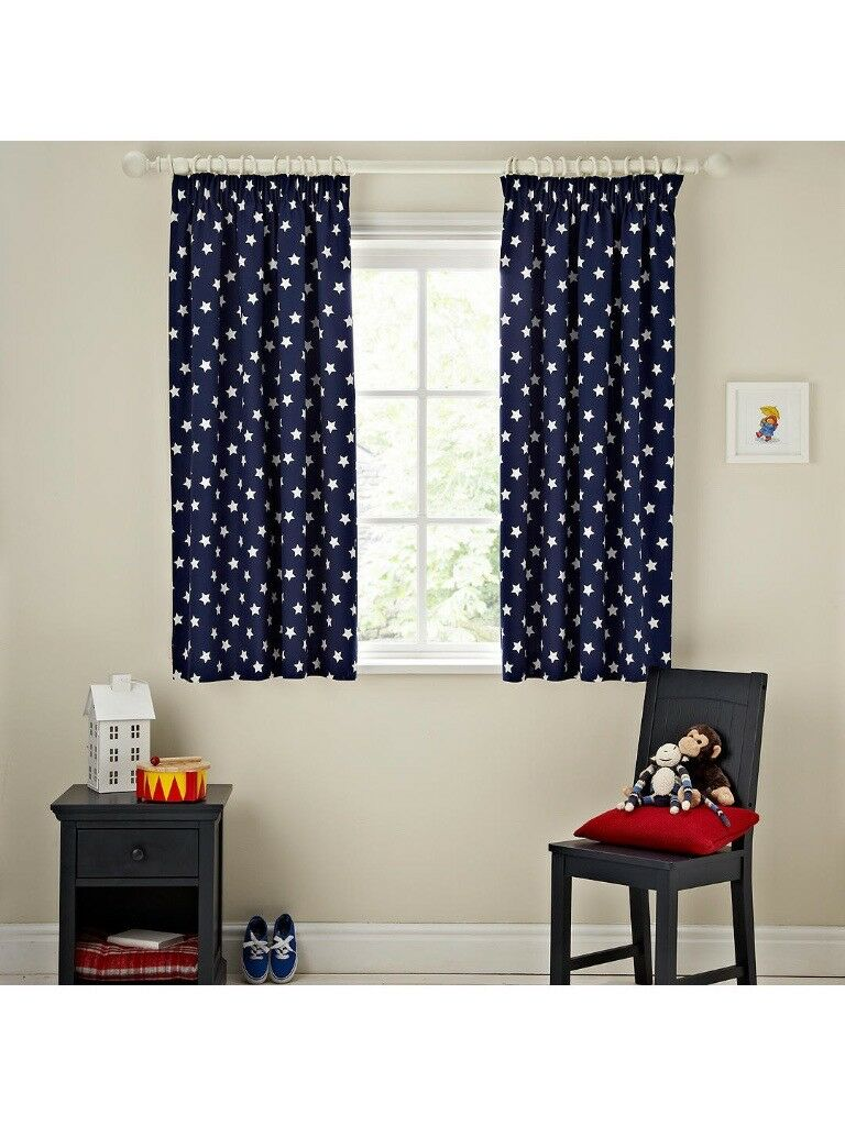 John Lewis Glow In The Dark Star Blackout Curtains
