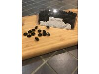 Black Table Decorations