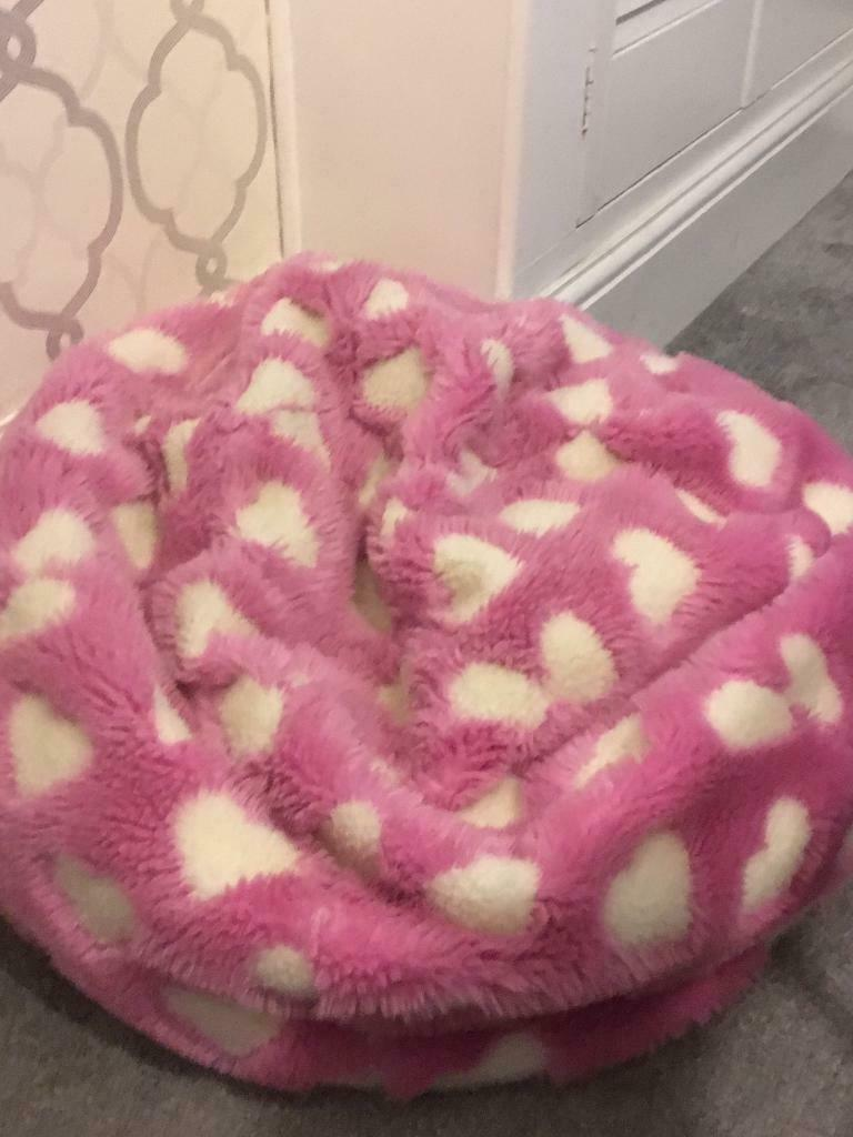 Kids Pink Beanbag Dunelm | in Plymouth, Devon | Gumtree
