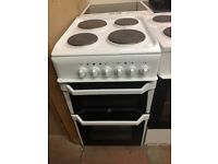 50CM WHITE INDESIT ELECTRIC COOKER
