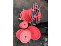 Weights ,bench and bars SOLD