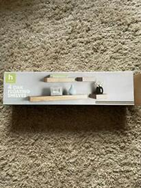Floating shelves £5 (BRAND NEW PAID £12)
