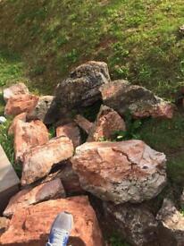 Garden rocks (granite)