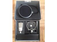 Neumann TLM 103 With Shock Mount and Pop Shield