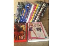 Job lot of DVDs over 15 inc some interactive games