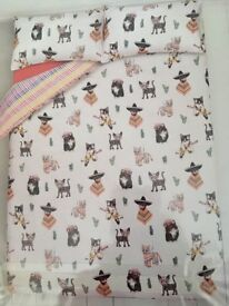 Gorgeous brand new double duvet cover