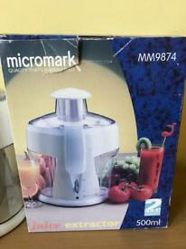 Micromark juice extractor
