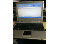Laptop netbook 10.2-inch widescreen Black outside silver inside