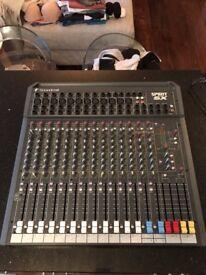 Spirit Folio SX Mixer in EXCELLENT condition. No Offers Please