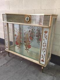 1950's drinks / display cabinet