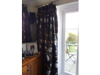 CURTAINS-Large Patio Door Size, 2 other smaller pairs to match