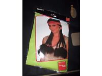 LADIES WILD WEST INDIAN FANCY DRESS WIG GREAT FOR CHRISTMAS OR NEW YEARS PARTY