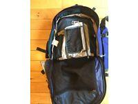 Blue Karrimor Rucksack/Backpack 50-70L