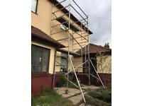 Instant 7.8 m WH alloy scaffold tower