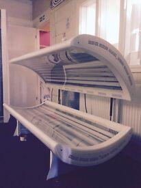 Philips Double laydown sunbed solarium tanning 100watt white