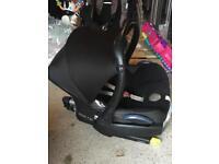 MaxiCosi Infant Car Seat & Isofix Base
