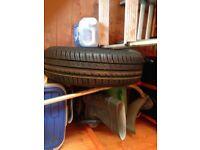 Brand new tyre/wheel 185/70/14 fits corsa d