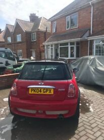 For sale! Mini Cooper 2004 Red! Great condition for age!