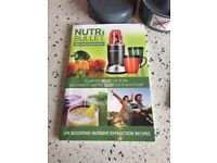 Nutribullet grey with all accesories