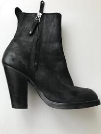 Topshop suede boots