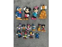 Assorted toy figures inc twirly woos miles from tomorrow Mickey Mouse