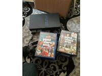 Ps2 with 17 games all leads and pads