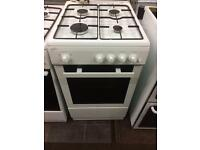 White statesman 50cm gas cooker grill & oven good condition with guarantee