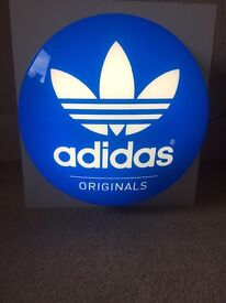 Extremely Rare Adidas Originals Illuminated Sign