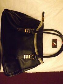 Jane Shilton Leather Designer Bag (brand new)