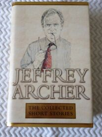 'Signed' Jeffrey Archer Novel 'The Collected Short Stories'